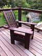 Morris Style Outdoor Thermally Modified Ash Chair