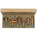 "6-Piece Cove Cabinetmaking Set ½"" Shank"