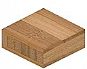 PLYBOO Flat Grain 3 ply Bamboo Plywood 4' x 8' x 3/4""