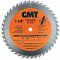 "CMT 251.040.07 - ITK FINISH CIRCULAR SAW BLADE - 7-1/4"" x 40 Tooth, ATB, 5/8"" Bore"